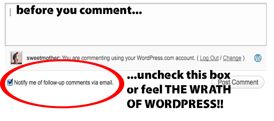 wp-comment box