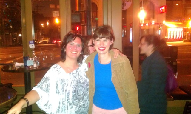 meeting a blogger