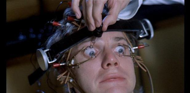 clockwork orange eye scene