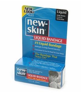new skin liquid bandage
