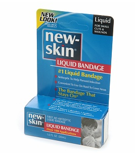 new skin liquid bandage