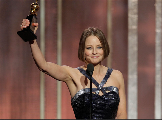 golden globes jodie foster speech