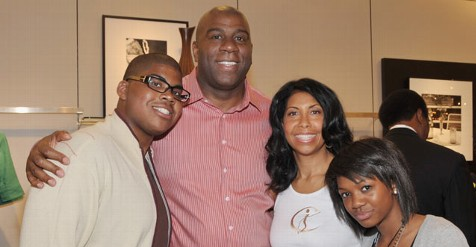 magic johnson gay son
